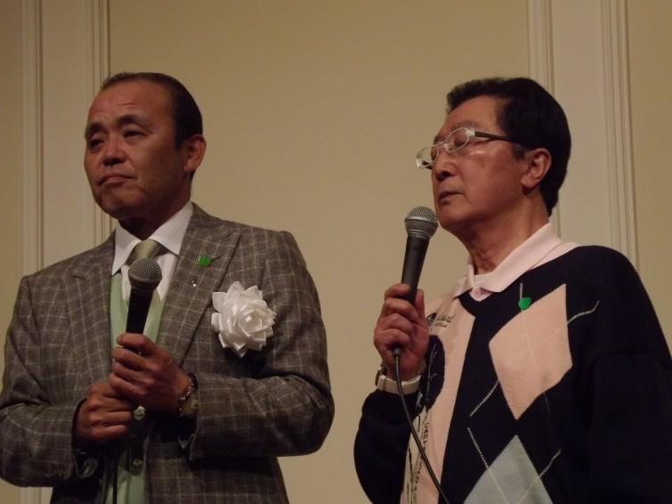 現在はプロ野球解説者で、阪神やオリックスで活躍された岡田元監督も駆けつけてくださいました。